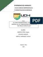 Tesis Clima Organizaciona Ly Satisfaccinlaboral
