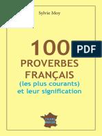 100 Proverbes Fran 231 Ais en Par Www Lfaculte Com
