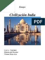 Ensayo Civilizacion India