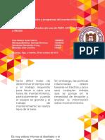 Principios y métodos de programación (uso de PERT, CPM, GANTT, REDES)