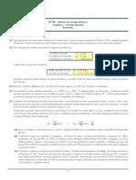 Lista de Exercícios Prof. Castro