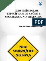 9- Códigos e Símbolos Específicos de Saúde e Segurança No Trabalho