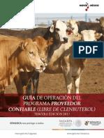3 Edici n - Gu a Proveedor Confiable Libre de Clenbuterol 2017