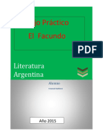 Facundo de Sarmiento análisis