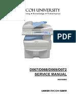 Ricoh Mp 171 - Service Manual