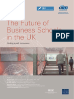 The Future of Business Schools in the UK