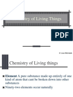 Chemistry of Living