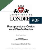Presupuestos y Costos en Diseño Gráfico.pdf
