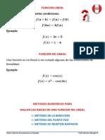 Metodos Iterativos Para Ecuaciones No Lineales