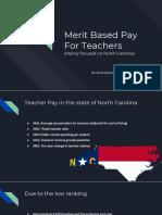 merit based pay for teachers