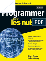 Programmer Pour Les Nuls 3e Edition Mai 2017