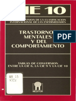 Tablas de conversion CIE 8, CIE 9 y CIE 10