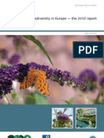 Assessing Biodiversity in Europe 2010 (Report)