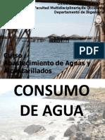 CLASE 6 Consumo de Agua y Caudal de Diseno2015