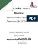 Investigacion serie roja, plaquetaria y leucocitaria según la NOM-087.docx