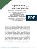 Modelling the Cardiovascular System - Mathematics
