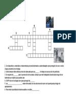 020. Material - Crucigrama Ropas Protectoras