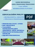 poster liceo polivalente