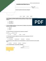 Examen Mat. 2