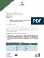 Carta con la que Transmilenio defendió compra de buses con diesel hace 7 meses