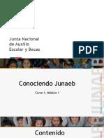 Junaeb Módulo 1 Curso 1
