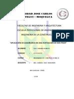 Aplicacion de Albañileria