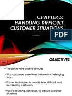 Handling Irated Customers