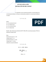 Guía de Aplicación - Dilución