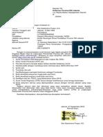 Surat Lamaran & Pernyataan CPNS