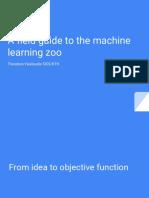 Zoo Machine Learning