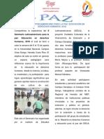 Boletín PAZ 2 (2018)