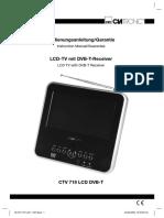 Portable DVB-T Receiver ( CTV 719 DVB- T) Clatronic