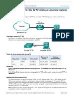 283040060 7 2 4 3 Practica de Laboratorio Uso de Wireshark Para Examinar Capturas de FTP y TFTP