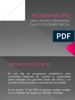 Programa Spss