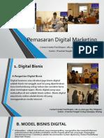 Pemasaran Digital Marketing / Fast Respon / 0812-3262-6994
