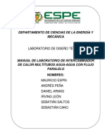 Informe Agua Agua Contraflujo