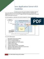 IBM WAS v8-Installation Guideline