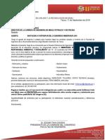 Carta de Auspicio Inacex Chile