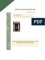 Boletín de Jurisprudencia