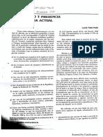 Desarrollo y Presencia de La Merida Actual - Lucia Tello - 1991