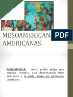 CIVILIZACIONES MESOAMERICANAS 4°