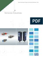 WEG Sensores Industriais 50029077 Catalogo Portugues Br Pt