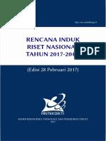 RENCANA INDUK RISET NASIONAL TAHUN 2017-2045  - Edisi 28 Pebruari 2017.pdf