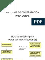 Liquidacion Publica para obras