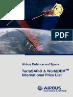 TSX International PriceList