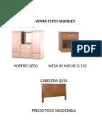 A LA VENTA ESTOS MUEBLES.docx