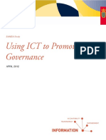 Using ICT to Promote Governance 2012