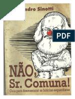 Não, Sr. Comuna