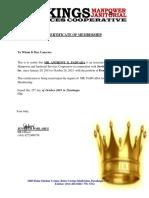 COM of Anthony Paduada Edit