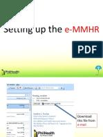 EMMHR Manual